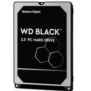 Western Digital WD Black 1TB 2.5' HDD SATA 6gb/s 7200RPM 64MB Cache SMR Tech for Hi-Res Video Games 5yrs Wty