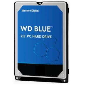 Western Digital WD Blue 2TB 2.5' HDD SATA 6Gb/s 5400RPM 128MB Cache SMR Tech 2yrs Wty