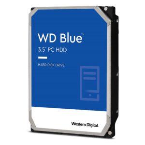 Western Digital WD Blue 1TB 3.5' HDD SATA 6Gb/s 7200RPM 64MB Cache CMR Tech 2yrs Wty