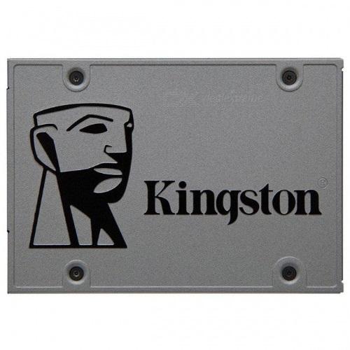 Kingston A400 120GB 2.5' SATA3 6Gb/s SSD - TLC 500/450 MB/s 7mm Solid State Drive 1 mil hrs MTBF 3yrs