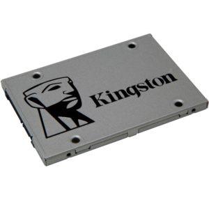 Kingston A400 240GB 2.5' SATA3 6Gb/s SSD - TLC 500/450 MB/s 7mm Solid State Drive 1 mil hrs MTBF 3yrs