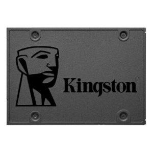 Kingston A400 480GB 2.5' SATA3 6Gb/s SSD - TLC 500/450 MB/s 7mm Solid State Drive 1 mil hrs MTBF 3yrs