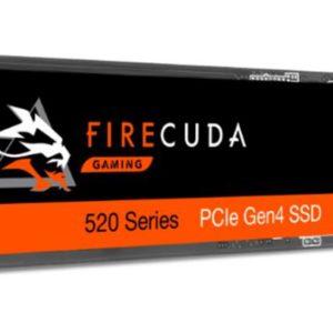 Seagate 2TB Firecuda 520 M.2 NVMe SSD - 5000R/4400 MB/S