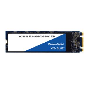 Western Digital WD Blue 250GB M.2 SATA SSD 560R/525W MB/s 95K/81K IOPS 100TBW 1.75M hrs MTTF 3D NAND 7mm 5yrs Wty