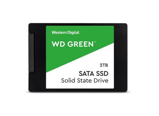 Western Digital WD Green 2TB 2.5' SSD SATA 545R/430W MB/s 80TBW 3D NAND 7mm 3 Years Warranty