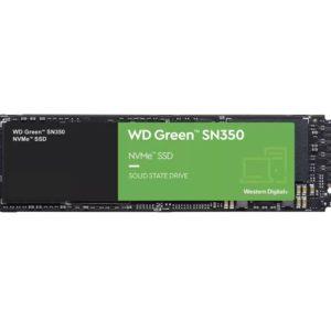Western Digital WD Green SN350 240GB M.2 NVMe SSD 2400MB/s 900MB/s R/W 40TBW 160K/150K IOPS 1M hrs MTTF 3yrs wty ~WDS240G2G0B