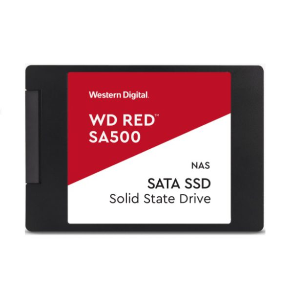 Western Digital WD Red SA500 2TB 2.5' SATA NAS SSD 24/7 560MB/s 530MB/s R/W 95K/85K IOPS 1300TBW 2M hrs MTBF 5yrs wty