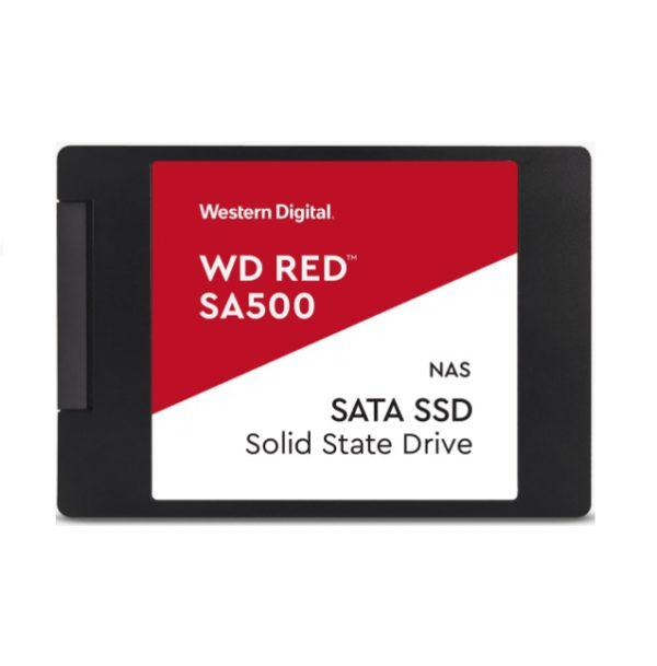 Western Digital WD Red SA500 500GB 2.5' SATA NAS SSD 24/7 560MB/s 530MB/s R/W 95K/85K IOPS 350TBW 2M hrs MTBF 5yrs wty