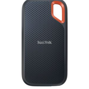 SanDisk Extreme Portable SSD 500GB USB 3.2 Gen 2 Type C & Type A compatible 1050MB/s 1000MB/s IP55 dust-water resistance 256-bit AES hardware 5YR WTY