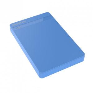 Simplecom SE203 Tool Free 2.5' SATA HDD SSD to USB 3.0 Hard Drive Enclosure - Blue Enclosure