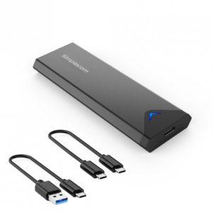 Simplecom SE509 NVMe (M Key) M.2 SSD to USB 3.2 Gen 2 USB-C 10Gbps Enclosure
