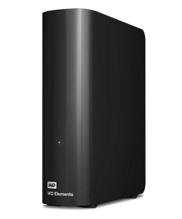 Western Digital WD Elements Desktop 4TB USB 3.0 3.5' External Hard Drive - Black Plug & Play Formatted NTFS for Windows 10/8.1/7
