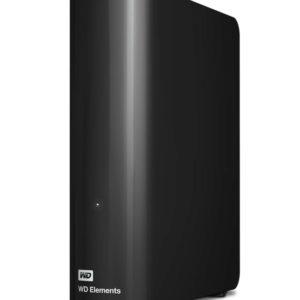 Western Digital WD Elements Desktop 6TB USB 3.0 3.5' External Hard Drive - Black Plug & Play Formatted NTFS for Windows 10/8.1/7