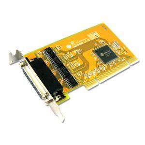 Sunix SER5056AL PCI 4-Port Serial RS-232 Card - 4-port RS-232 Universal PCI Low Profile Serial Board - Compatible with 64/32-bit PCI Architecture (LS)