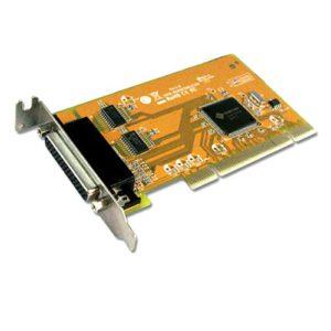 Sunix MIO5079AL 2-port RS-232 & 1-port Parallel Universal PCI Low Profile Multi-I/O Board; peed up to 115.2Kbps; Support Microsoft Windows