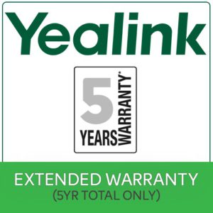 5 Years Extended Return To Base (RTB)  Yealink Warranty $50 value