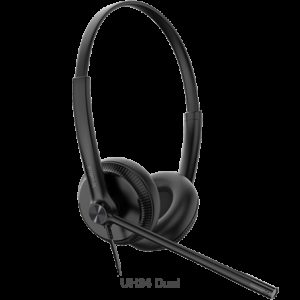 Yealink UH34 Dual Ear Wideband Noise Cancelling Microphone - USB Connection