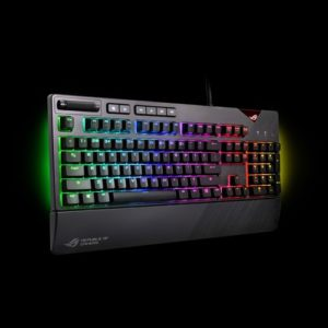 ASUS ROG Strix Flare RGB Mechanical Gaming Keyboard With Cherry MX Switches (BROWN SWITCH)