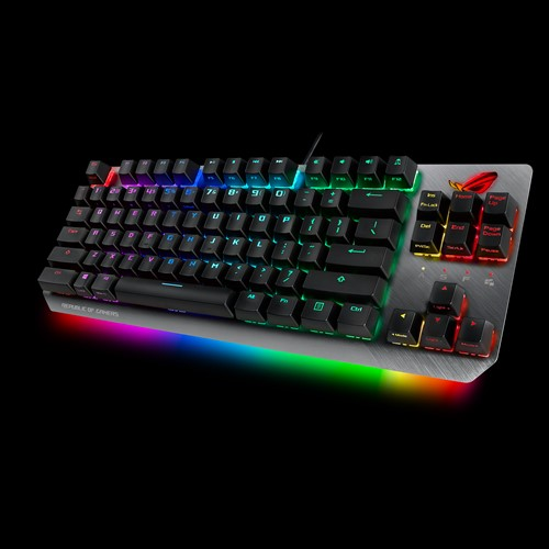 ASUS X802 STRIX SCOPE TKL/BL TKL Wired Mechanical RGB Gaming Keyboard For FPS Games