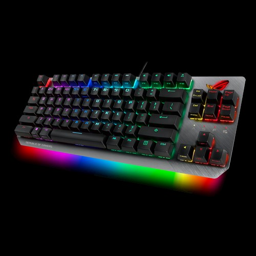 ASUS ROG STRIX SCOPE TKL/RD Wired Mechanical RGB Gaming Keyboard For FPS Games