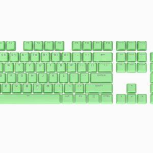 Corsair PBT Double-shot Pro Keycaps - Mint Green Keyboard