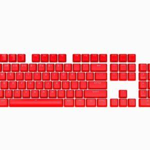 Corsair PBT Double-shot Pro Keycaps - Origin Red - Keyboard