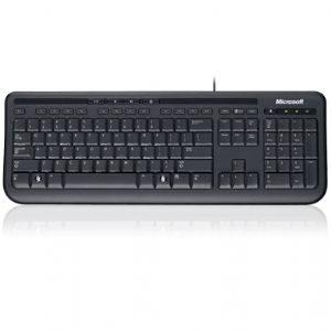 Microsoft Wired 600 Keyboard Only USB