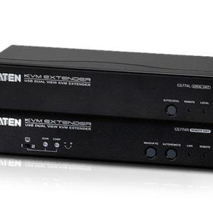 Aten USB Dual VGA Cat 5 KVM Extender (1600 x 1200@150m);1920 x 1200 @ 60Hz (30 m)