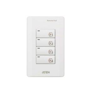 Aten VPK104 4-Key Contact Closure Remote Pad for VP1420/VP1421 Presentation Matrix Switches. Led lights