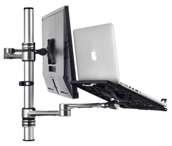 Atdec Articulated Monitor Arm + Notebook Combo