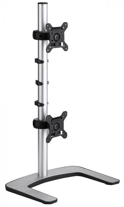 Atdec VFS Vertical Freestanding Dual Monitor Arm
