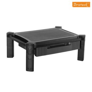 Brateck Height-Adjustable Modular Multi Purpose Smart Stand XL with Drawer (435x330x168mm) for most 13''-32'' Weight Capacity 10kg