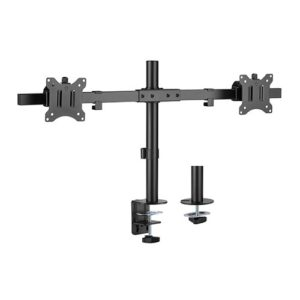 Brateck Pole Mount Dual-Screen Monitor Mount Fit Most 17'-32' Monitors