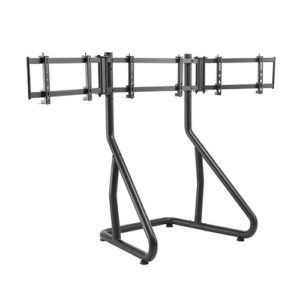 Brateck Triple Monitor Stand Perfect Viewing in the Game Fit Most 24'-32' Monitors Up to 10kg per screen