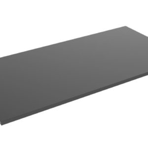 Brateck Particle Board Desk Board 1500X750MM  Compatible with Sit-Stand Desk Frame  - Black-- (Request M09-23D-B for the Frame)
