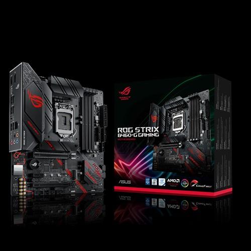 ASUS ROG STRIX B460-G GAMING mATX Gaming Motherboard10th Gen LGA1200 DDR4 2933MHz 2xM.2