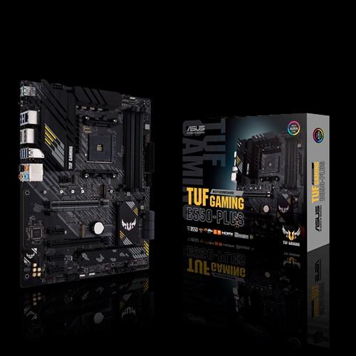 ASUS AMD B550 TUF GAMING B550-PLUS (Ryzen AM4) ATX Gaming MB