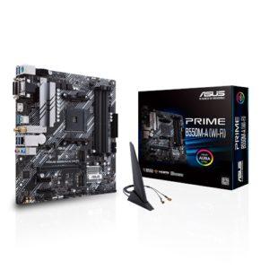 ASUS AMD B550 PRIME B550M-A (WI-FI) (Ryzen AM4) mATX MB