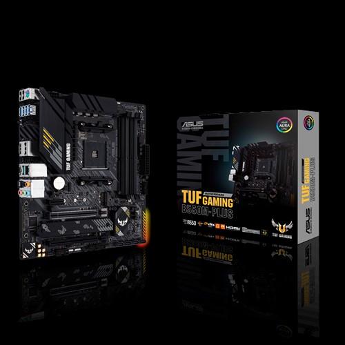 ASUS AMD B550 TUF GAMING B550M-PLUS (Ryzen AM4) mATX Gaming MB