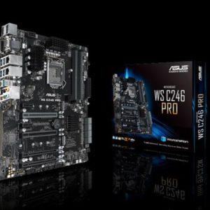 ASUS WS C246 PRO WS MB Intel LGA1151