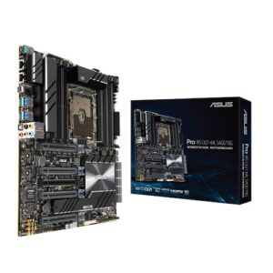 ASUS PRO WS C621-64L SAGE/10G Xeon-W-3000  Workstation MB 4xPCIe x 16 1xPCIe x 4 DDR4