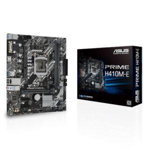 ASUS PRIME H410M-E mATX Motherboard 10th Gen LGA1200 DDR4 2933MHz