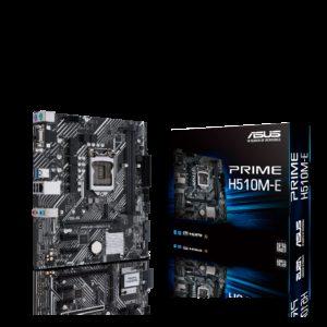 ASUS PRIME H510M-E Intel H510 (LGA 1200) Micro ATX Motherboard PCIe 4.0