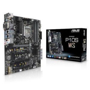 ASUS P10S WS ATX MB 4xDDR4