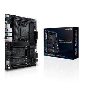ASUS WS AMD AM4 X570 ATX Workstation MB. 3 PCIe 4.0 x16