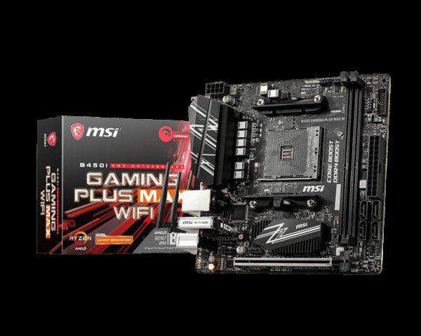 MSI B450I GAMING PLUS MAX WIFI AMD Mini ITX Motherboard