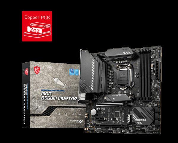 MSI MAG B560M MORTAR Intel mATX Motherboard