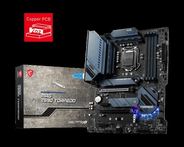 MSI MAG Z590 TORPEDO Intel ATX Motherboard