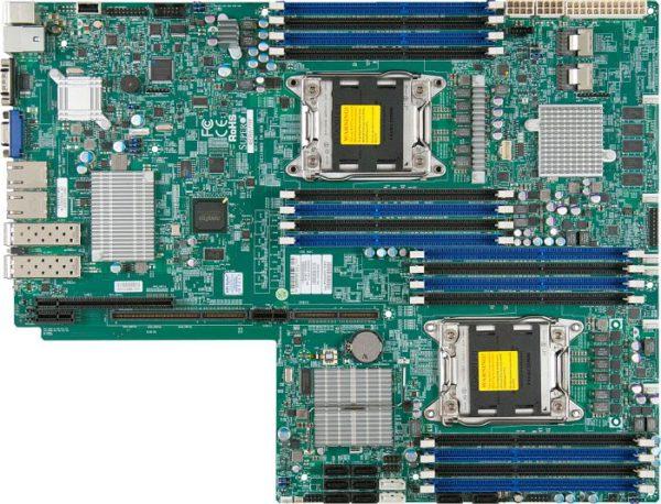 Supermicro X9DRW-7TPF Server Motherboard