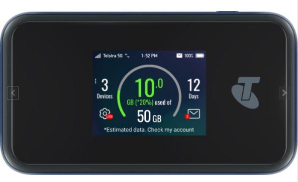 Telstra 5G Wi-Fi Pro Router with Gigabit LAN port (UNLOCKED)  - 5G / 4GX LTE Advanced CAT 20